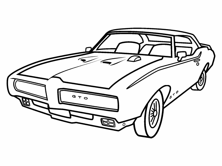 Pontiac Gto Hood