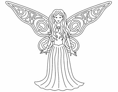 Decorate the Fairy Wings