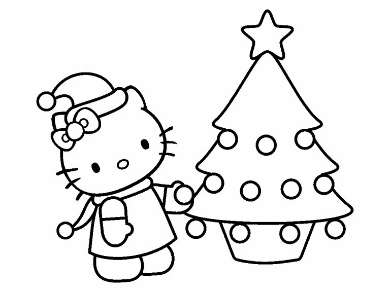 hello kitty coloring pages 4u - photo#11