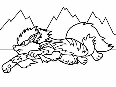 Arcanine Pokemon